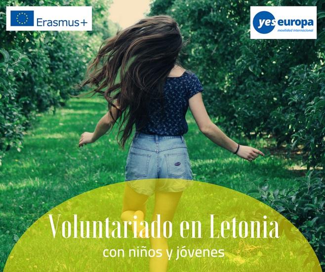 Voluntariado en Letonia con niños y jóvenes