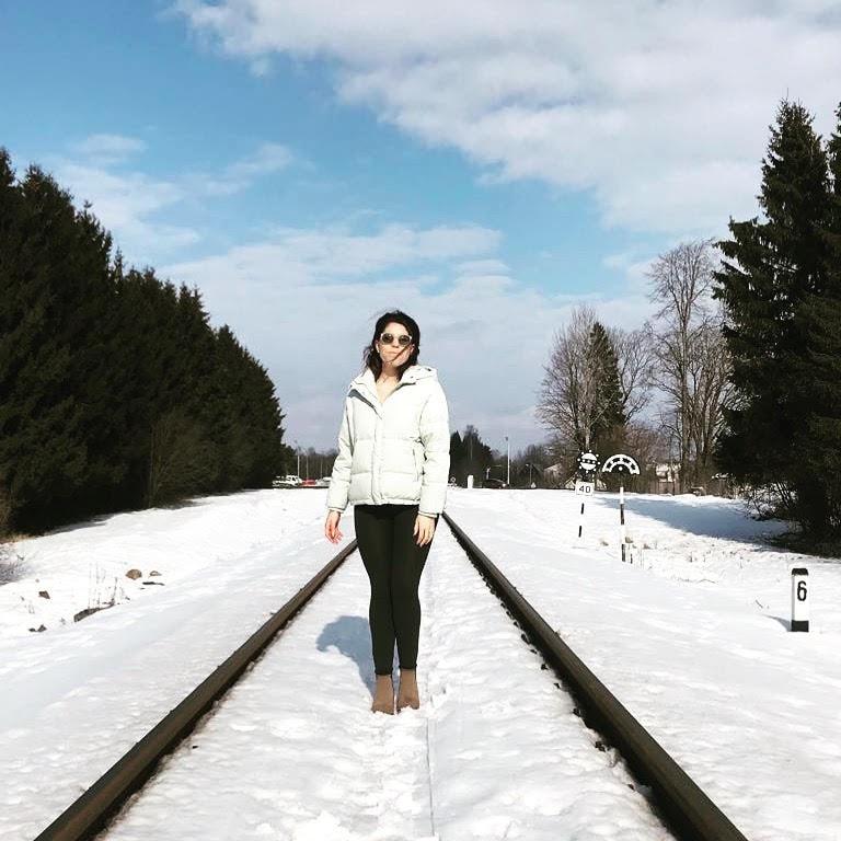 ¿Qué hace una mallorquina en la fría Letonia?