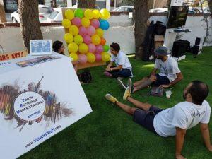 Voluntarios en Chipre