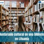 Voluntariado cultural en una biblioteca en Lituania