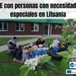 SVE con personas con necesidades especiales en Lituania