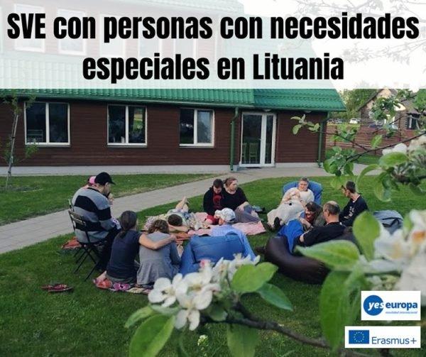 SVE con personas con necesidades especiales