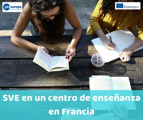 SVE en un centro de enseñanza en Francia