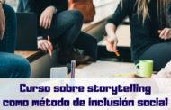 Curso sobre storytelling como método de inclusión social