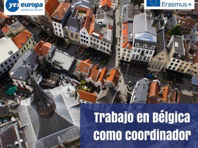 Trabajo en Bélgica como coordinador en el SCI