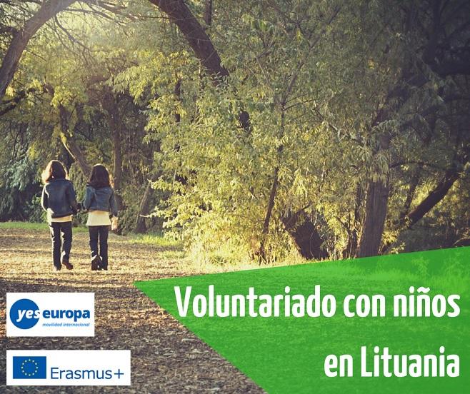 Voluntariado en Lituania con personas discapacitadas o niños