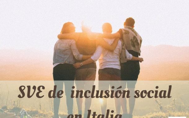 Voluntariado de inclusión social en Italia