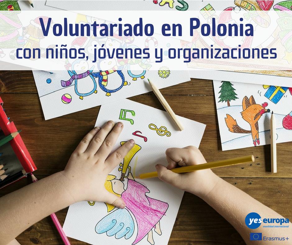 Voluntariado en Polonia con niños, jóvenes y organizaciones