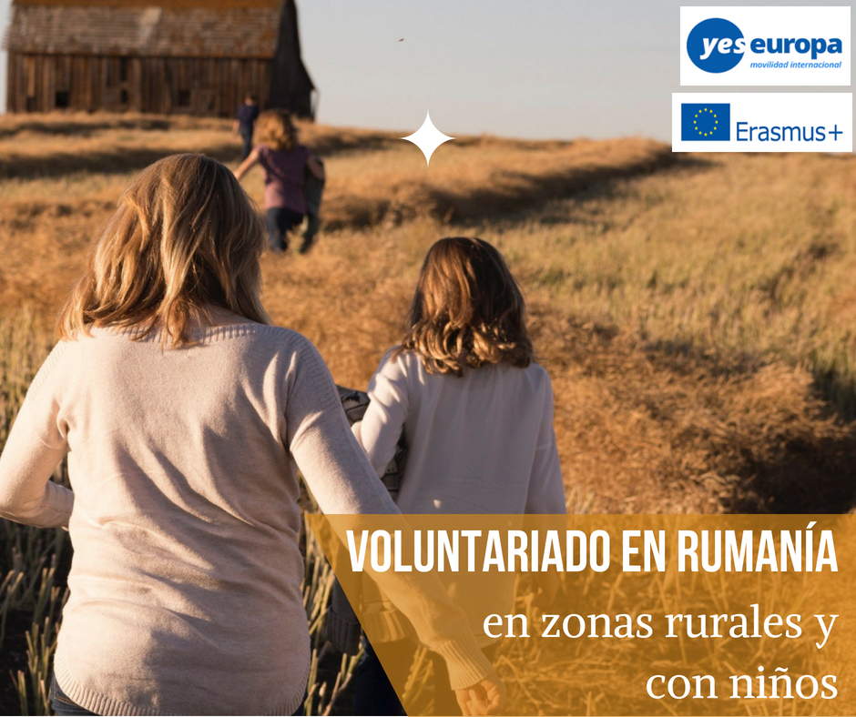 Voluntariado en Rumanía en zona rural y con niños