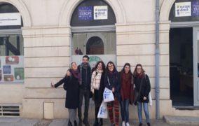 Claudia nos cuenta cómo ha sido su voluntariado en Nîmes