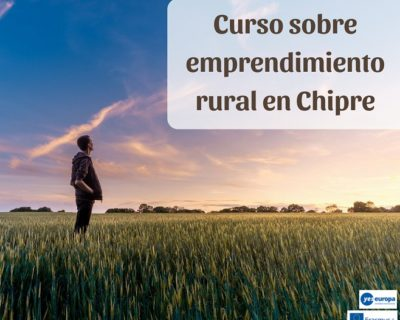 Curso becado sobre emprendimiento rural en Chipre