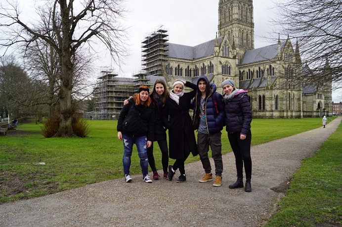 El SVE en Inglaterra de Débora, una aventura enriquecedora