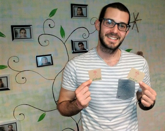 El voluntariado en Bulgaria de David