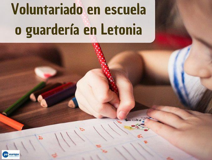 Voluntariado en escuela o guardería en Letonia