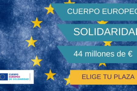 Plazas Cuerpo Europeo Solidaridad