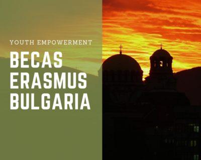 Becas Erasmus Bulgaria para jóvenes