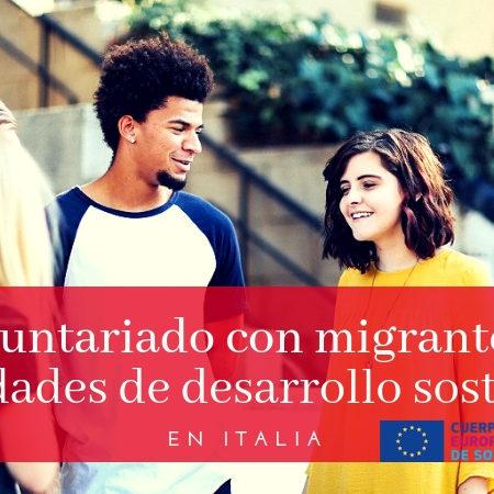 Cuerpo Europeo de Solidaridad en Italia – URGENTE