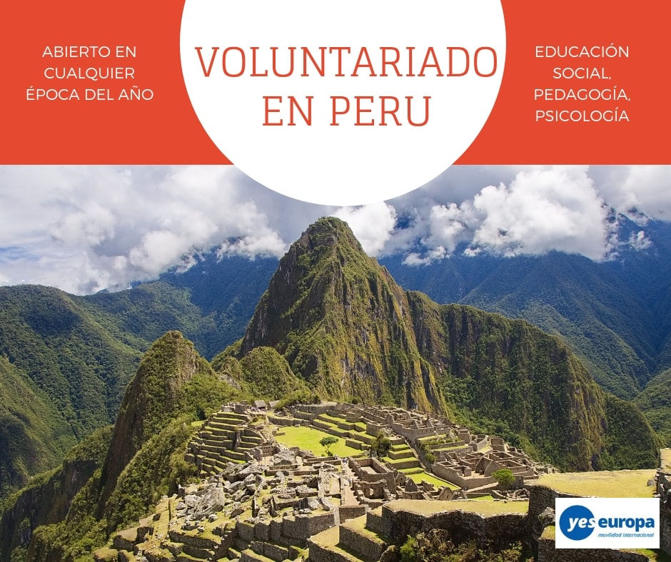 Oportunidad Voluntariado Perú