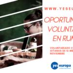 Oportunidad en Rumania discapacitados visuales