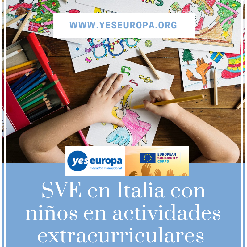 plazas voluntariado en italia