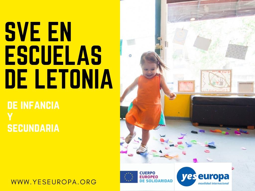 SVE en escuelas de Letonia a partir de Octubre Copy – Yes Europa