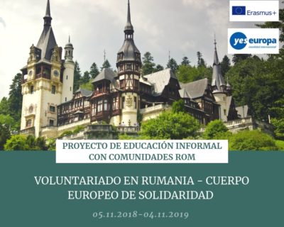 Voluntariado Rumania CES en educación intercultural