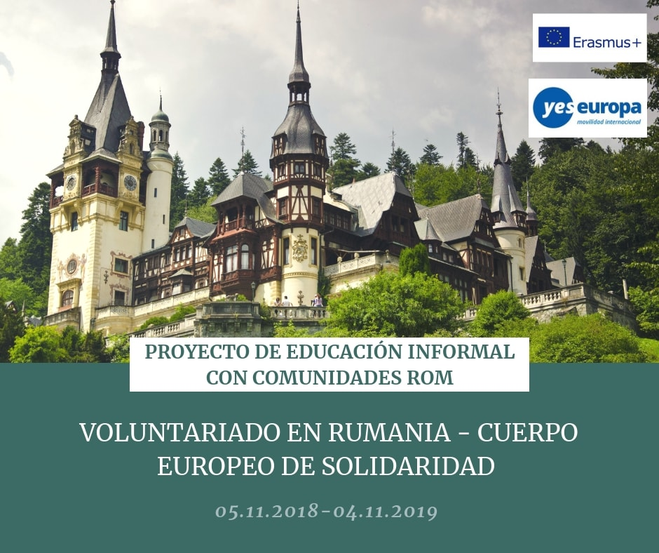 VOLUNTARIADO RUMANIA CES