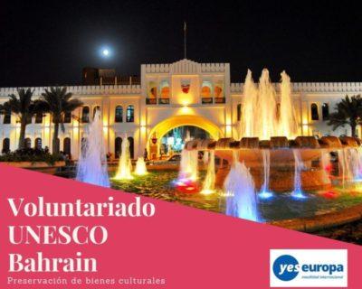 Voluntariado UNESCO Bahrain en sitios históricos
