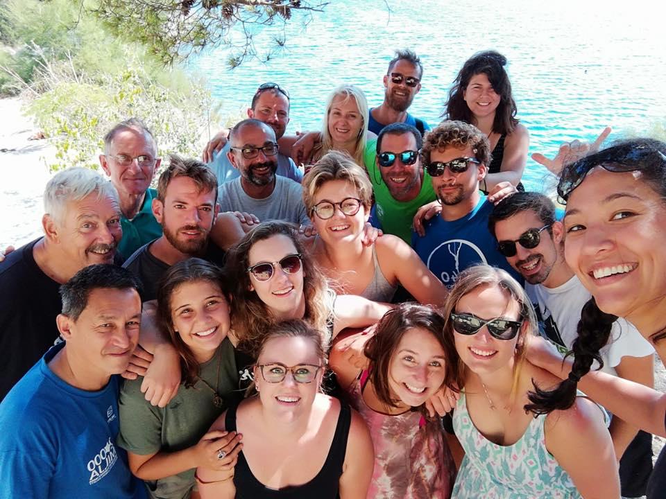 Carolina ha finalizado su voluntariado científico en Croacia
