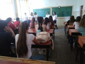 María ha finalizado su voluntariado sobre emprendimiento en Rumanía