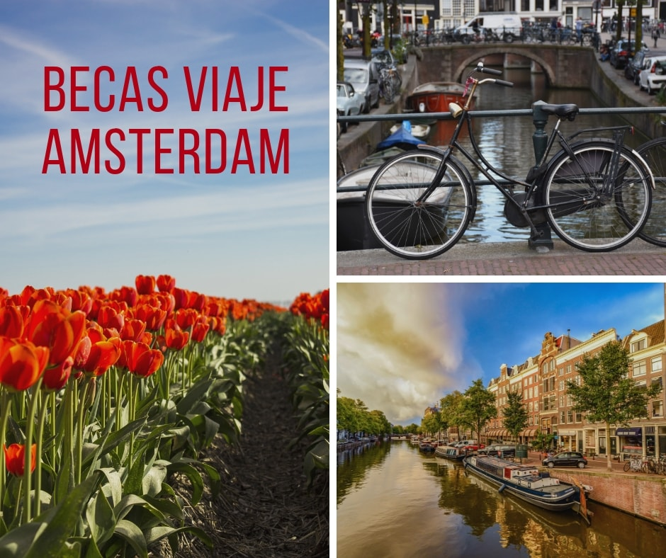 Becas Viaje Amsterdam