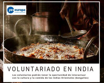 Hacer Voluntariado en India en proyectos interculturales