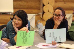 Curso sobre storytelling en Letonia