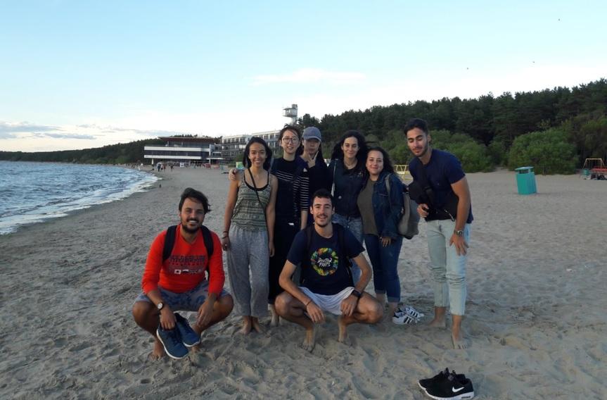 Pablo ha disfrutado de su voluntariado en Estonia