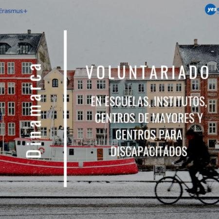 Plazas de voluntariado en Dinamarca en varios proyectos