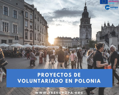 4 plazas para voluntarios en Polonia