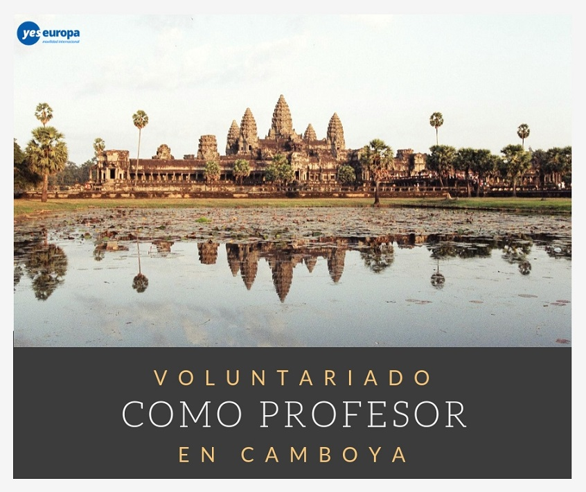 Voluntariado como profesor en Camboya