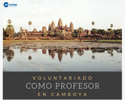 Voluntariado Camboya como profesor/a
