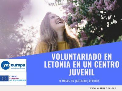 Voluntariado en Letonia en un centro juvenil