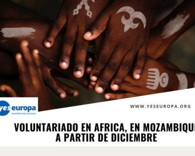 Voluntariado en Mozambique corta duración en Diciembre