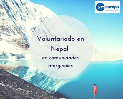 Voluntariado en Nepal en comunidades marginales