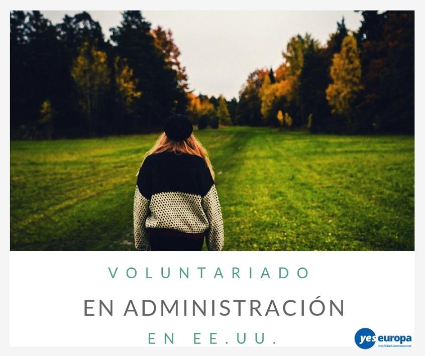 Voluntariado en administración en EE.UU.
