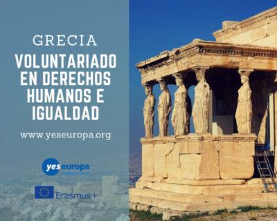 Voluntariado en derechos humanos e igualdad en Grecia