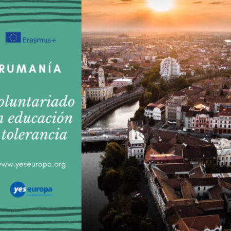 Voluntariado en educación y tolerancia en Rumanía