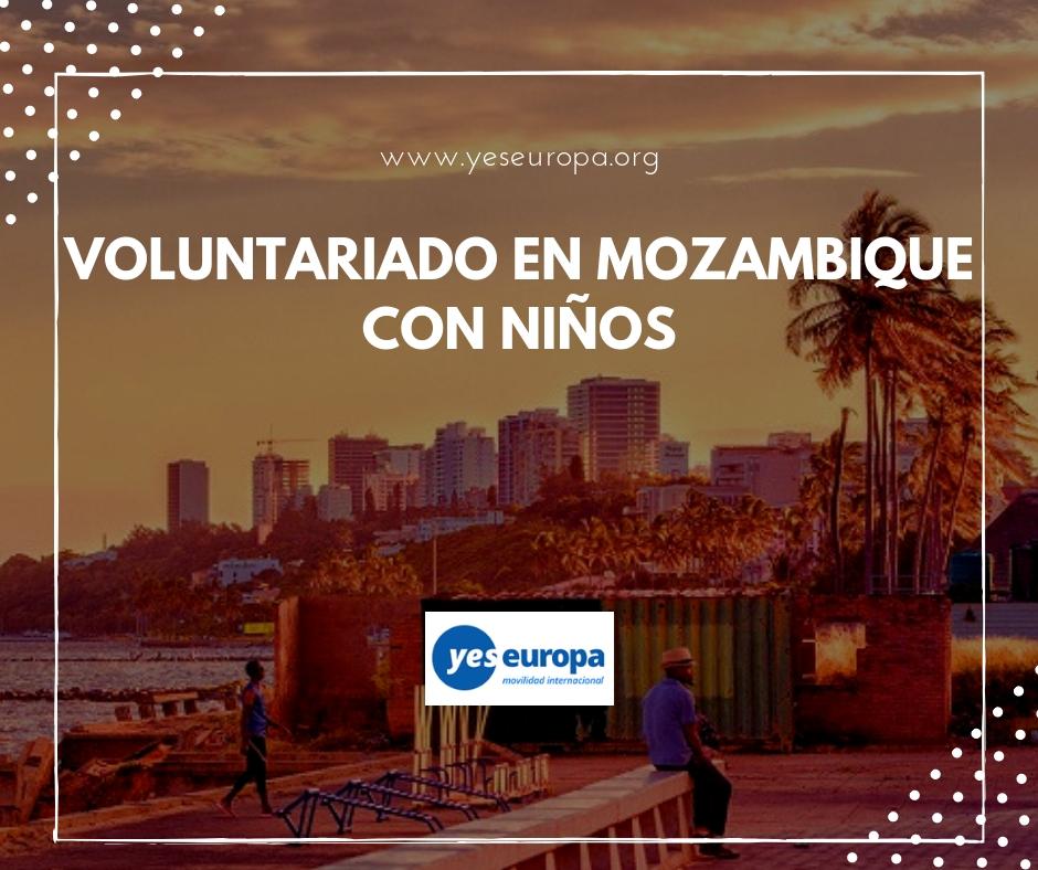 voluntariado en África con niños