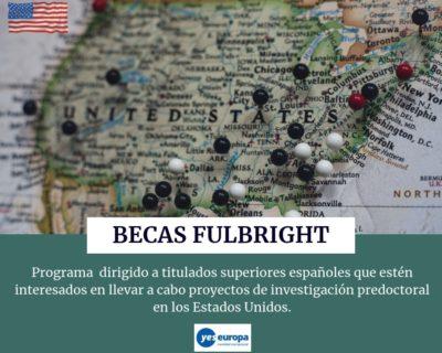 Becas Fulbright para realizar investigación predoctoral en EE. UU.