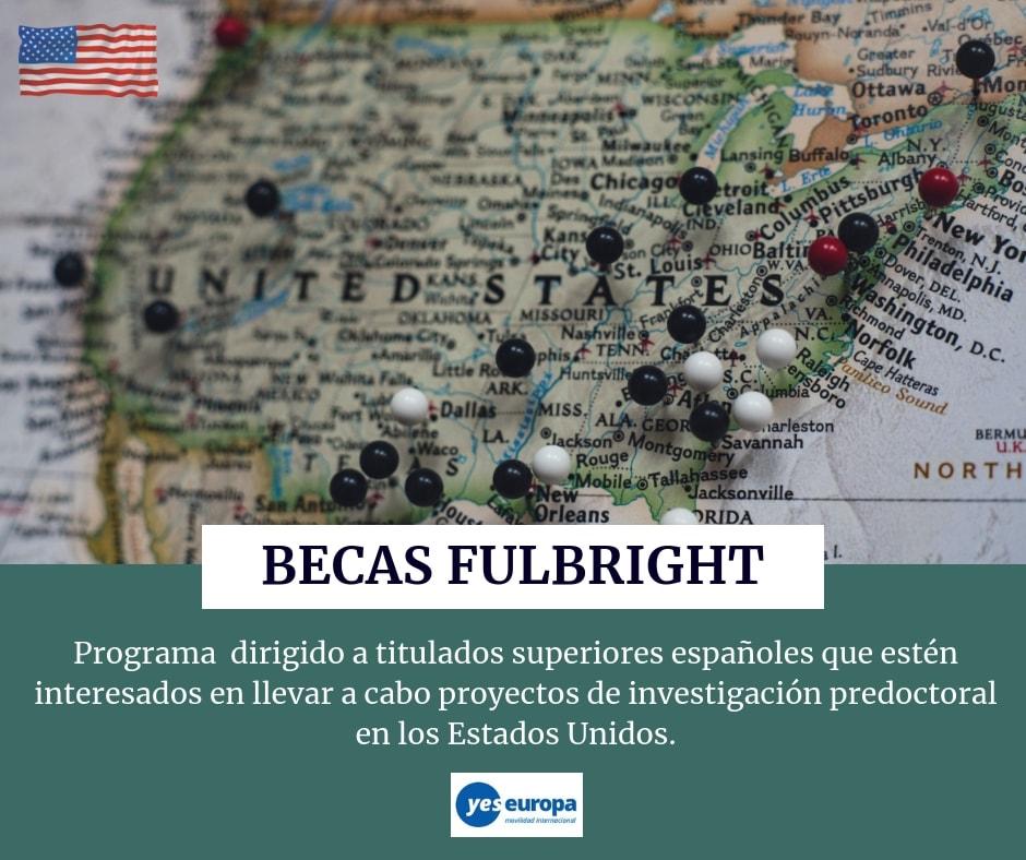 Becas Fulbright para realizar investigación predoctoral en EE.UU