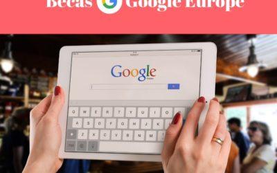 Becas Google Europe para estudiantes con discapacidad