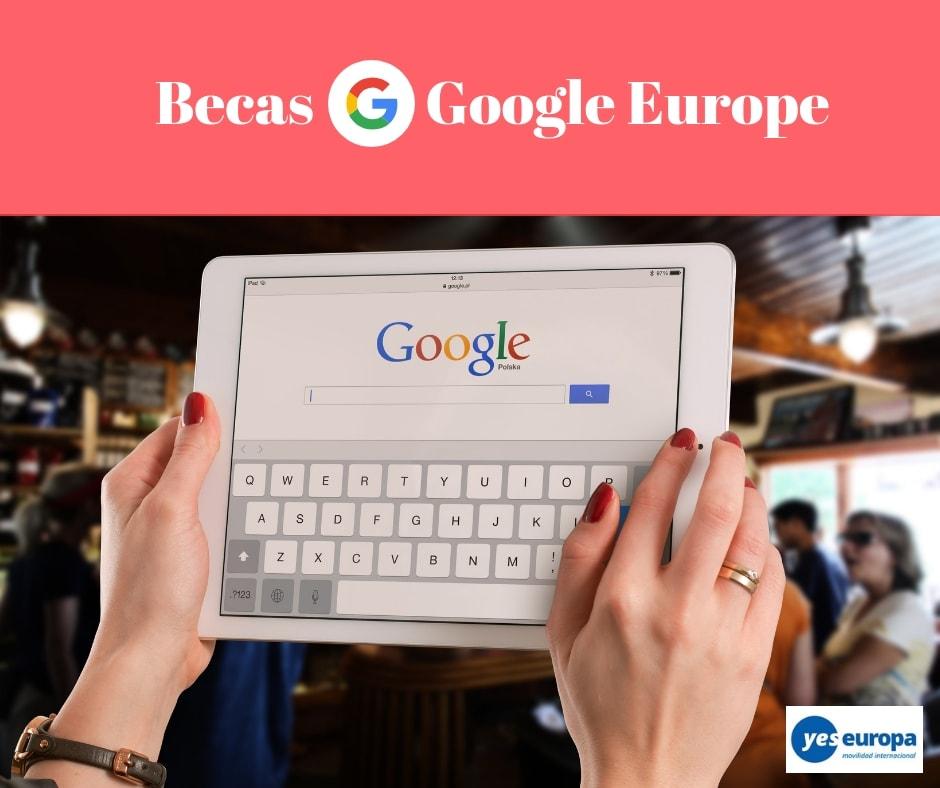 Becas Google Europe