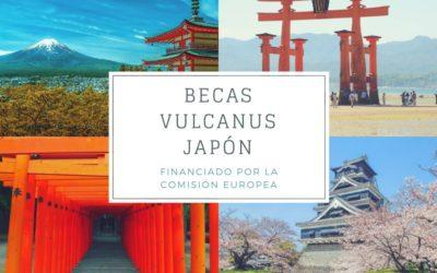 Becas Vulcanus Japón  para estudiantes de la UE / COSME